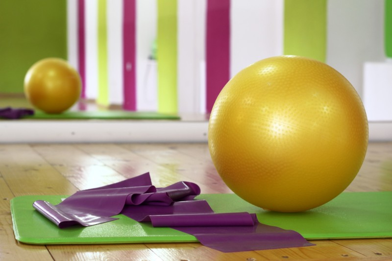 PILATES BALL MATの写真です